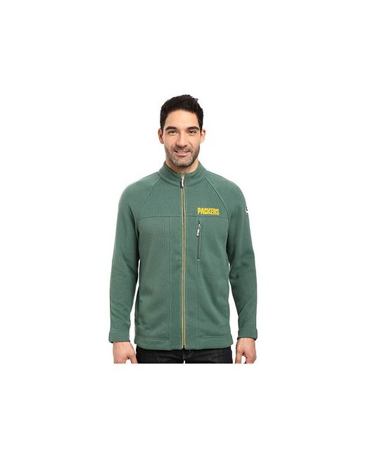 f734742295877 Tommy Bahama - Green Bay Packers Nfl Blindside Knit Jacket (packers  Viridian Pine) Jacket ...