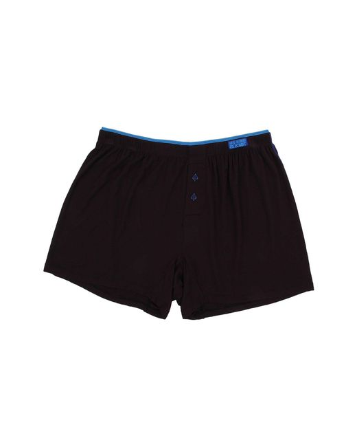 2xist - Black Barcode Modal Knit Boxer for Men - Lyst