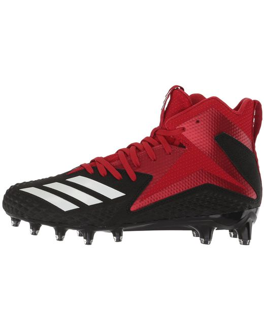 77d61e179 Lyst - adidas Freak X Carbon Mid in Red for Men - Save 41%