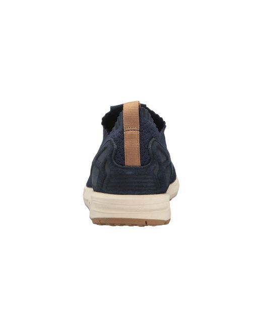 4368ce9661fdb ... Adidas Originals - Blue Zx Flux Primeknit for Men - Lyst ...