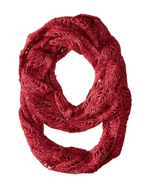 Coal   Red The Madison Scarf   Lyst