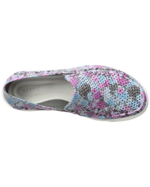 41a299a151 ... Crocs™ - Multicolor Citilane Roka Graphic Slip-on - Lyst ...