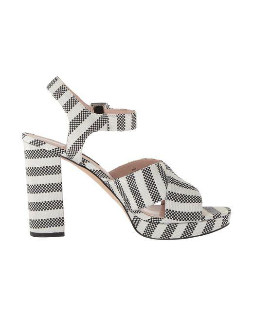 077982d6bb5 ... Nine West - Multicolor Jimar Platform Block Heel Sandal - Lyst ...
