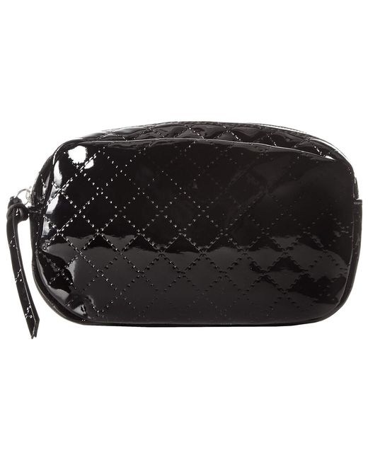 43e7d3915007 Lyst - T-Shirt   Jeans Patent Quilted Belt Bag in Black