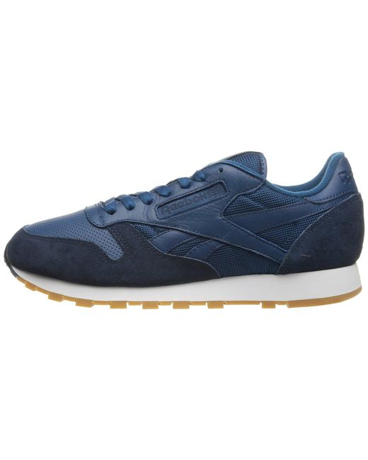dfc48dae3173d6 Reebok - Blue Classic Leather Spp for Men - Lyst .. ...