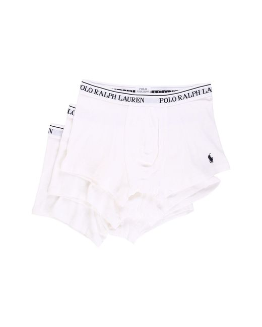 Polo Ralph Lauren - White 3-pack Trunk for Men - Lyst