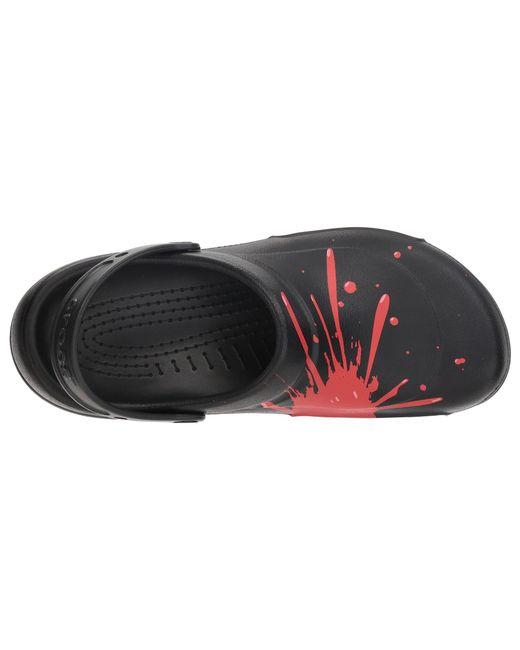 bddd1a8729153 ... Crocs™ - Black Bistro Graphic Clog - Lyst ...
