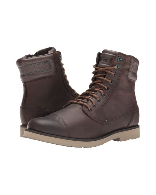 Teva - Brown Durban Tall Leather for Men - Lyst