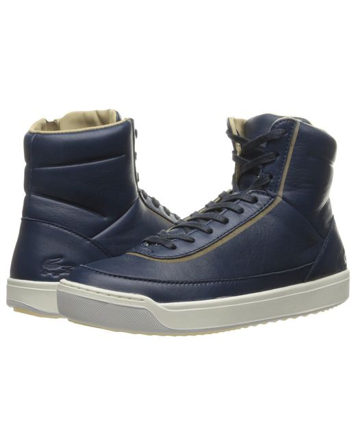 b02c78f94216 Lyst - Lacoste Explorateur Calf 316 1 Caw Fashion Sneaker in Blue ...