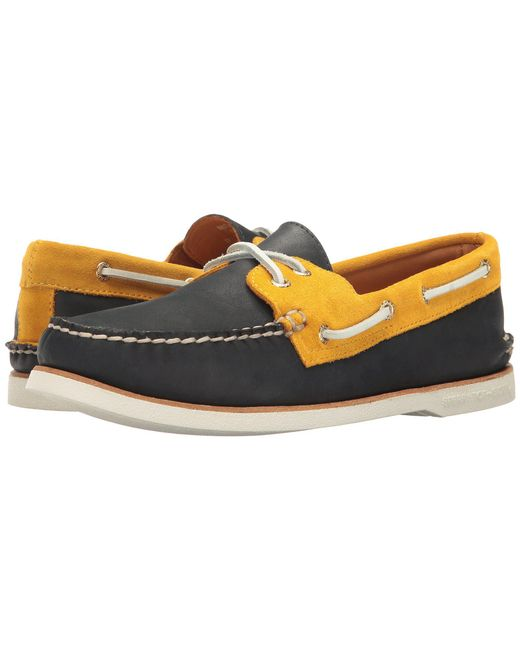 Sperry Top-Sider - Multicolor Gold A/o 2-eye Chevre for Men - Lyst