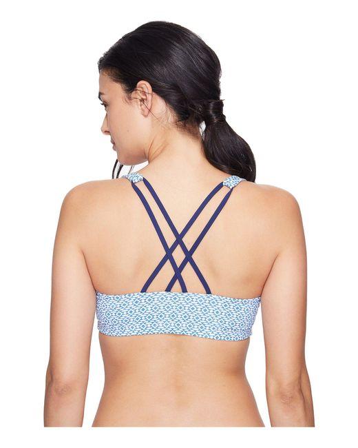 Carve Designs - Blue Hana Bikini Top - Lyst