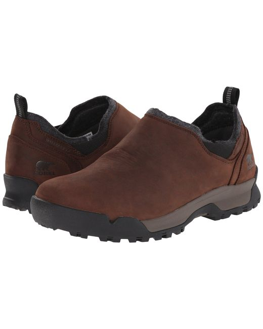 Sorel - Brown Paxson Moc Waterproof for Men - Lyst