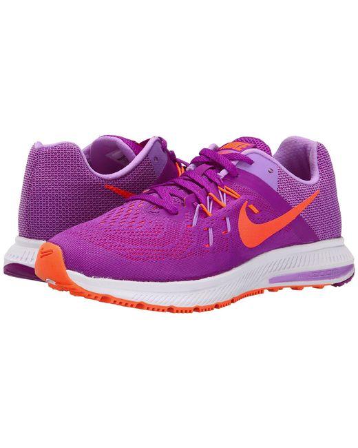Nike - Purple Zoom Winflo 2 - Lyst
