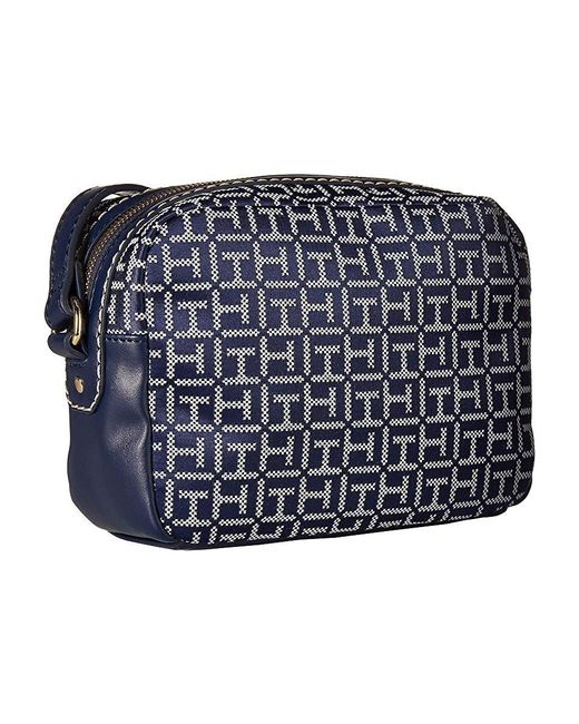 f9342fc1dc ... Tommy Hilfiger - Blue Jackie Camera Crossbody (navy/white) Handbags -  Lyst ...
