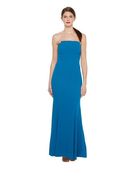 JILL Jill Stuart - Blue Harlow Strapless Hourglass Gown - Lyst