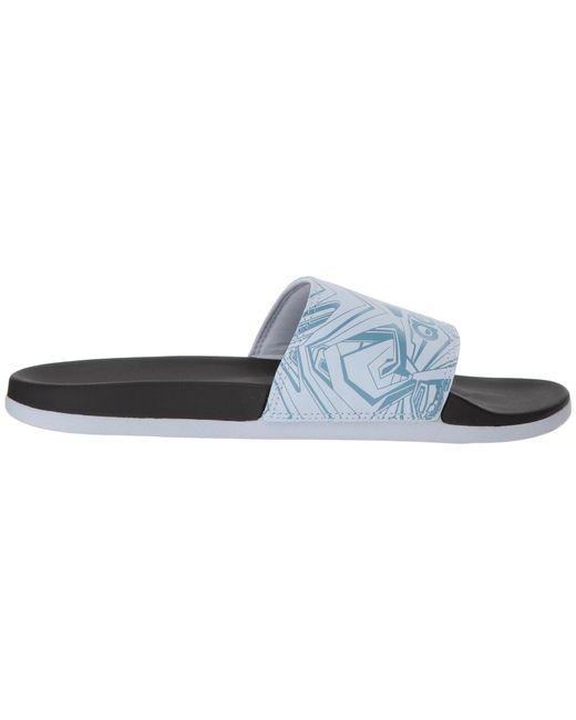 detailed look 662a2 44083 ... Adidas - Blue Adilette Cf+ Gr - Lyst ...