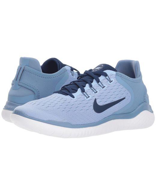 7db327b298d9e Nike - Blue Free Rn 2018 - Lyst ...