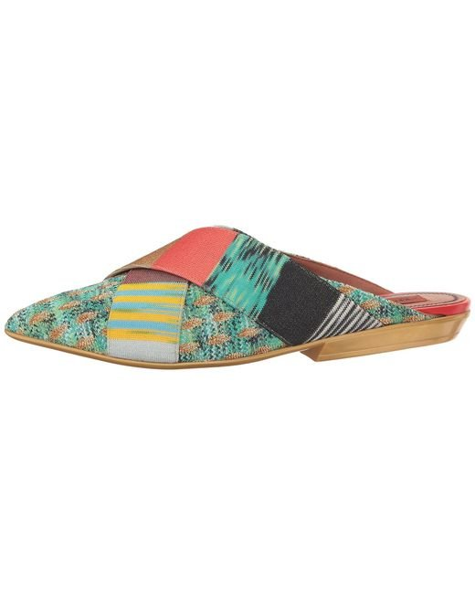 Pointed Patchwork Mule Missoni LAclM