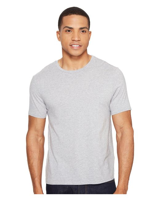Threads For Thought   Gray Standard Crew Tee for Men   Lyst