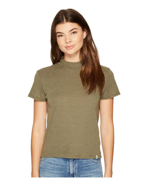 Volcom - Green She Shell Tee - Lyst