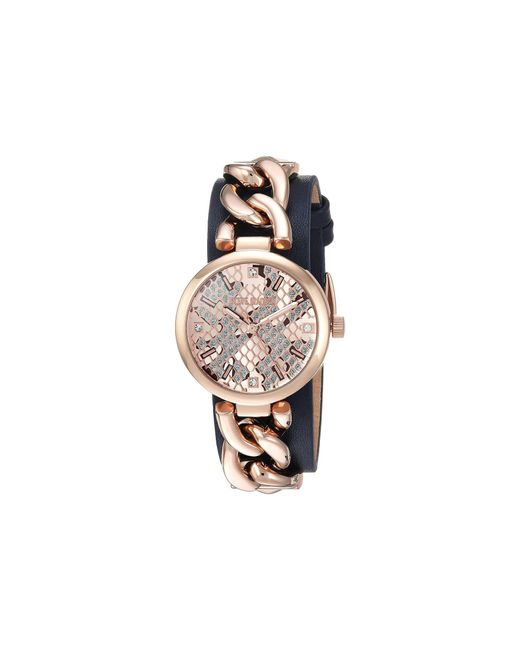 Steve Madden   Multicolor Alloy Case & Band Watch   Lyst