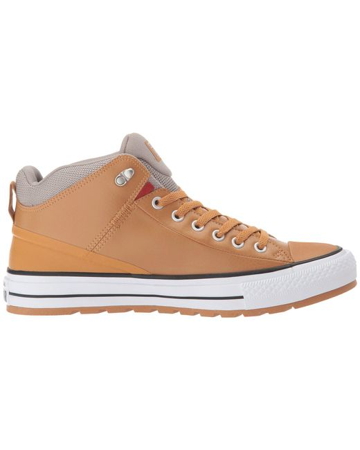 d2cd537ce5d6 ... Converse - Multicolor Chuck Taylor® All Star® Street Boot Leather Hi  for Men ...