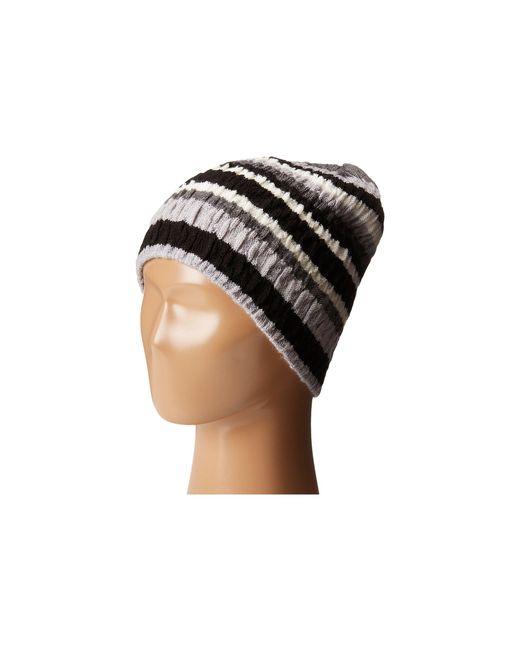 Smartwool - Gray Striped Chevron Hat - Lyst