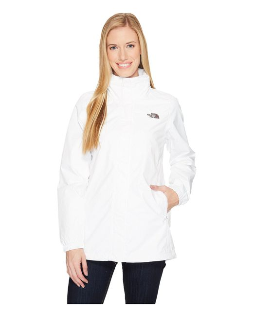 The North Face - White Resolve Parka - Lyst