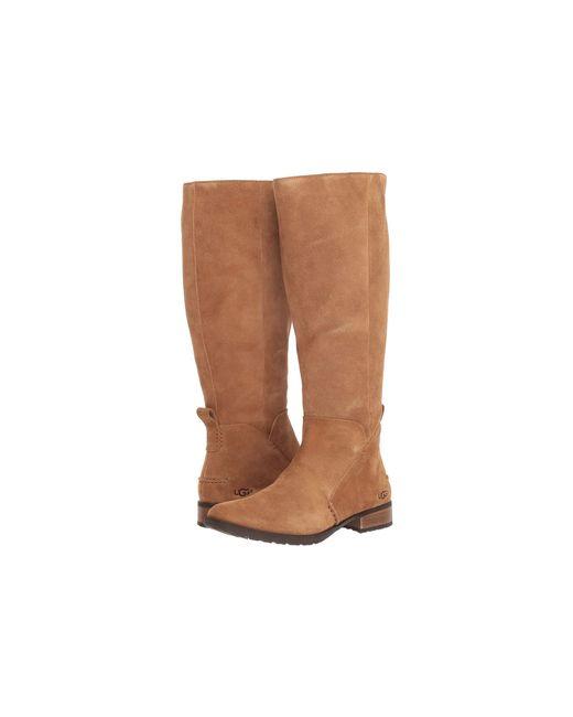 176afa40187 Ugg - Brown Leigh Boot - Lyst ...
