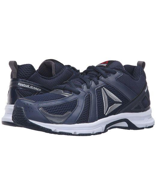 Reebok - Blue Runner for Men - Lyst ... 98168afec