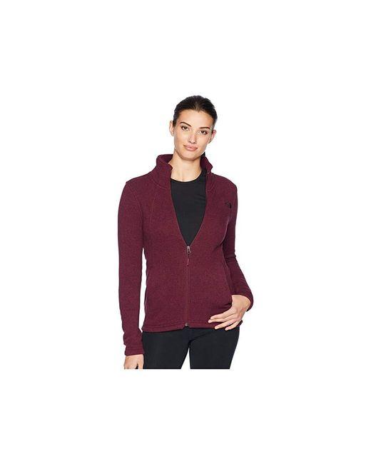 a6c597d10 Women's Brown Crescent Full Zip (fig Heather) Coat