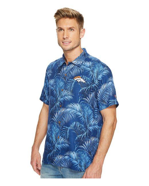 ... Tommy Bahama - Blue Denver Broncos Nfl Fez Rounds Shirt for Men - Lyst  ... 0aba80009