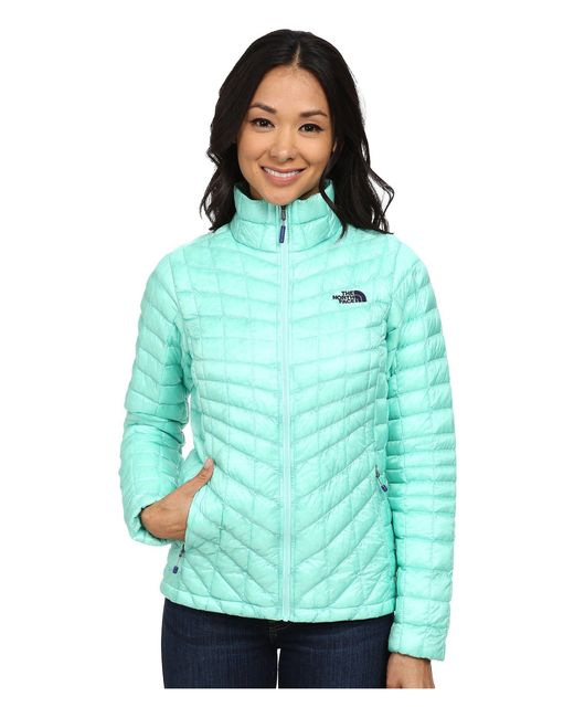 The North Face - Green Thermoball™ Full Zip Jacket - Lyst