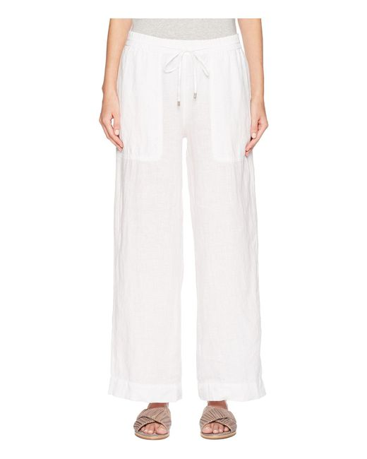 Eileen Fisher - White D/s Wide Leg Pants - Lyst