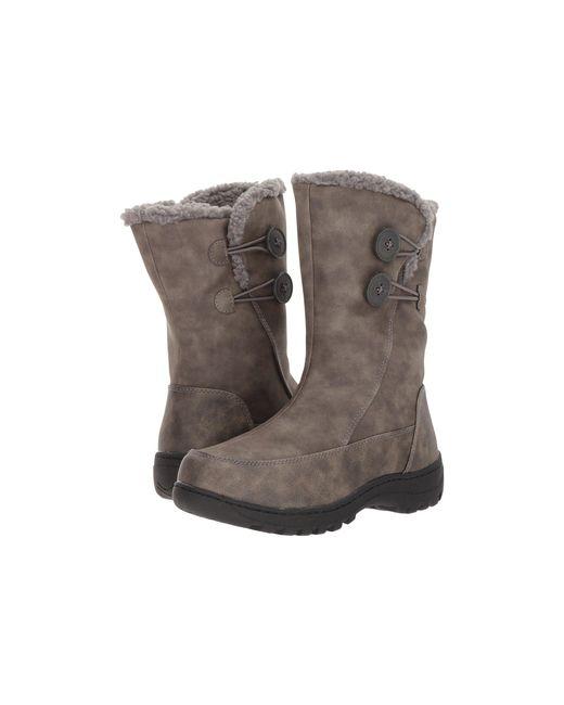 Tundra Boots - Gray Marilyn - Lyst