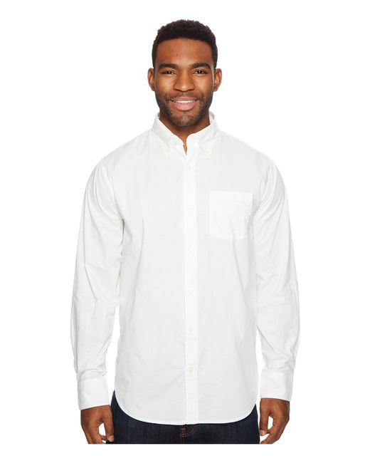 Mountain Khakis - White Davidson Stretch Oxford Shirt for Men - Lyst