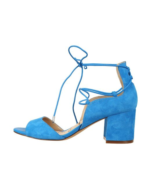 c271f687ac989 Lyst - Sam Edelman Serene Dress Sandal in Blue - Save 24%