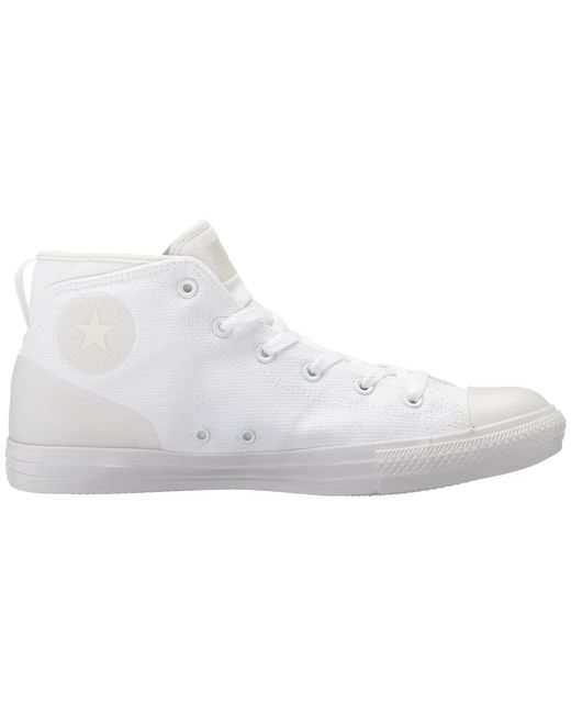 bf4d5fc9f01 Lyst - Converse Chuck Taylor Syde Street Mid in White for Men - Save ...
