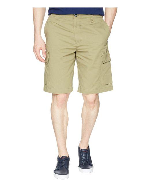 Lacoste - Natural Broken Twill Cargo Bermuda Shorts, Fh4681 for Men - Lyst