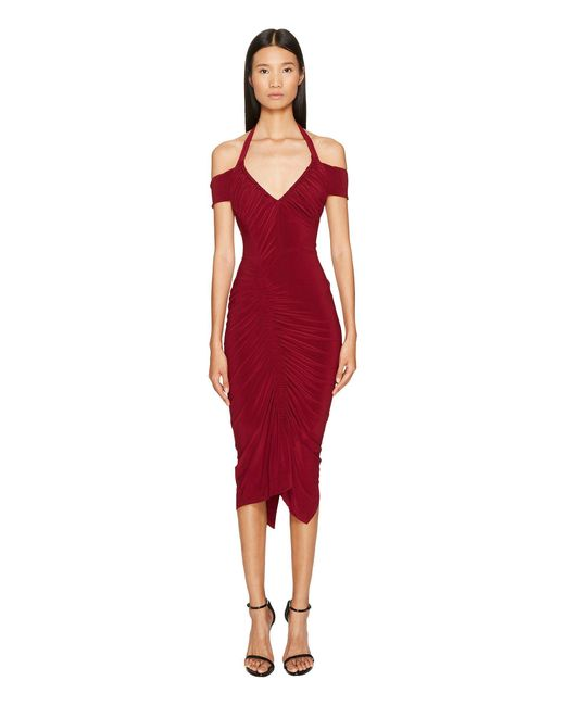 Preen By Thornton Bregazzi - Red Clara Dress - Lyst