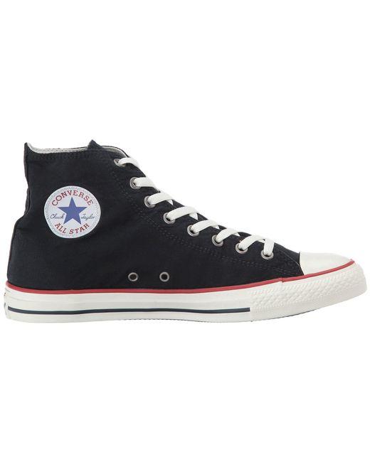 ... Converse - Black Chuck Taylor All Star Ombre Wash - Hi - Lyst ...