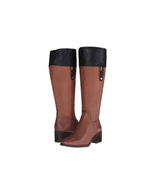 Franco Sarto - Brown Lizbeth Wide Calf - Lyst