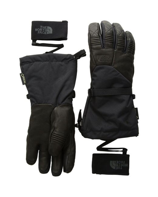 The North Face - Black Powderflo Gore-tex® Gloves - Lyst