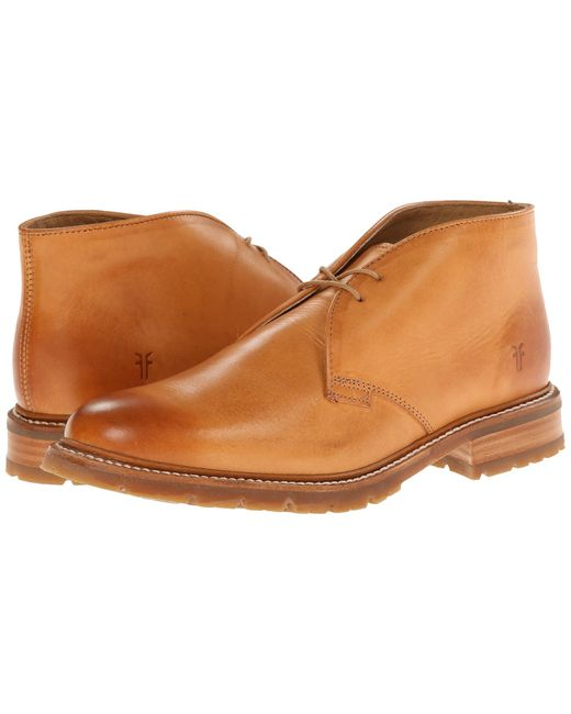 Frye | Brown James Lug Chukka for Men | Lyst