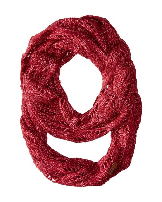 Coal | Red The Madison Scarf | Lyst