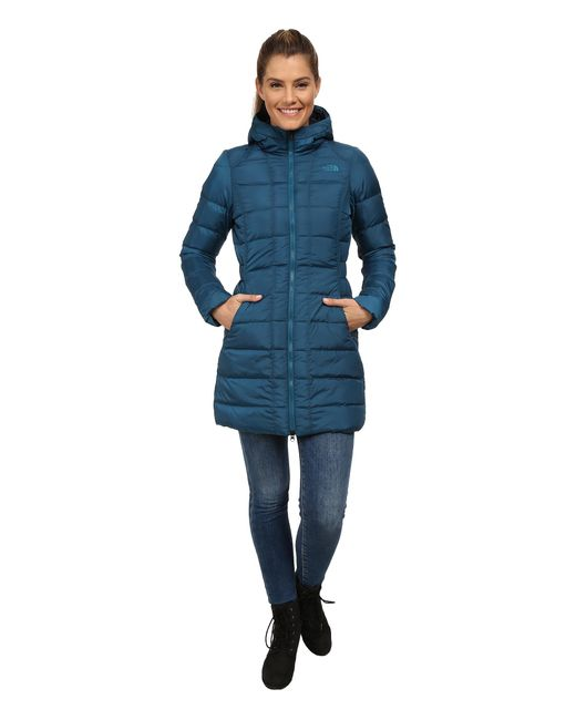 The North Face | Blue Gotham Parka | Lyst