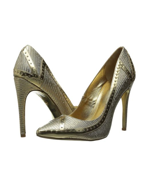 Just Cavalli | Metallic Studded Pump | Lyst