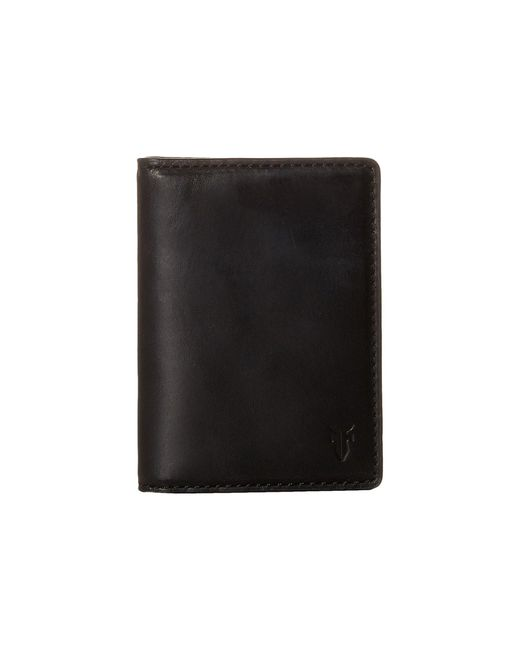 Frye | Black David Bi-fold for Men | Lyst