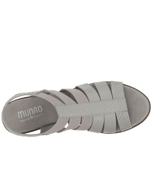 24745be561e Lyst - Munro Cookie in Gray - Save 39%