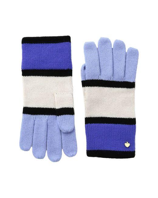 Kate Spade | Blue Color Block Gloves | Lyst